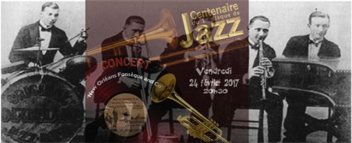 Centenaire du premier disque  de jazz
